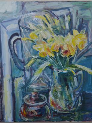 Pat Irwin - Daffodil Still Life