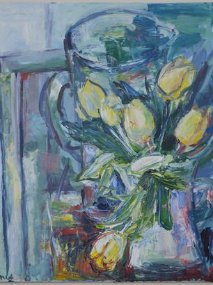 Pat Irwin - Unopened Tulips